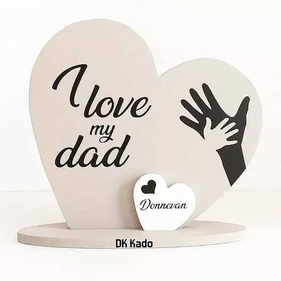 Vaderdaghart I love my Dad