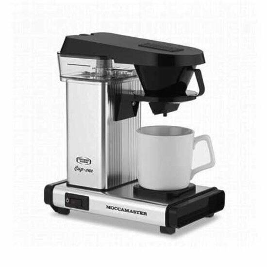 MoccaMaster Cup One Zilver