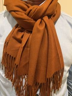 Sjaal camel cashmere