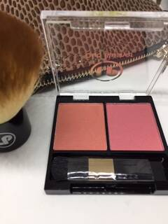 Duo Blusher Laura Paige set 1