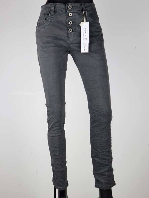 Jewelly Jeans Baggy - Antraciet