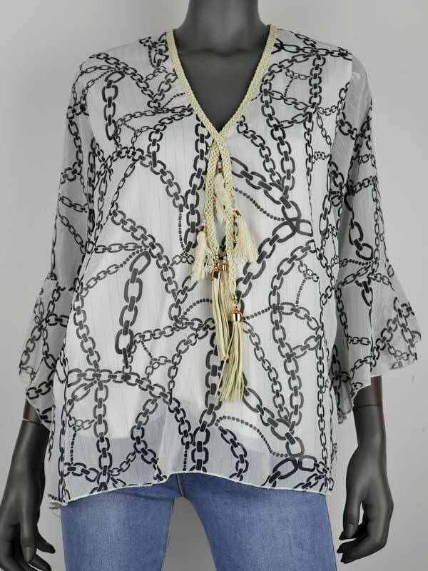 Blouse Chanelle off white
