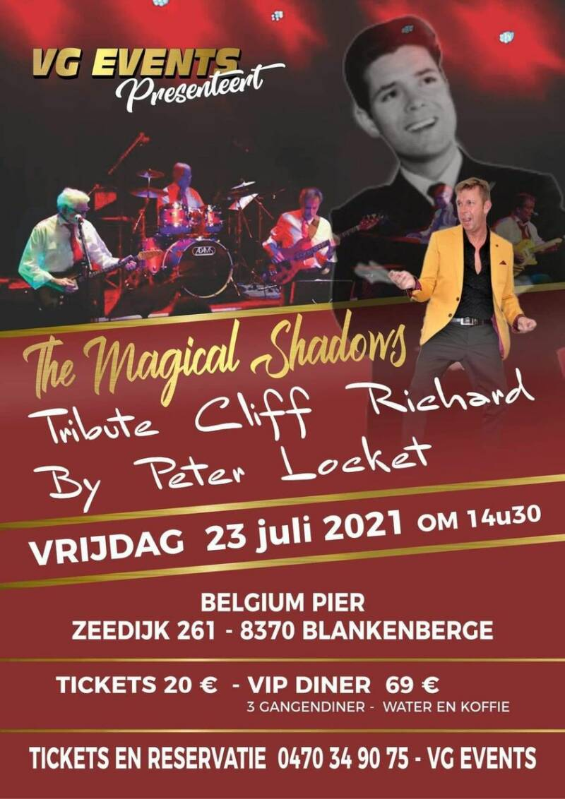 THE MAGICAL SHADOWS - TRIBUTE CLIFF RICHARD - OLDIES SHOW