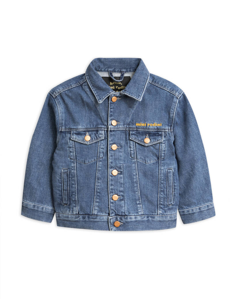Mini Rodini - Blue denim jacket (laatste 116/122)