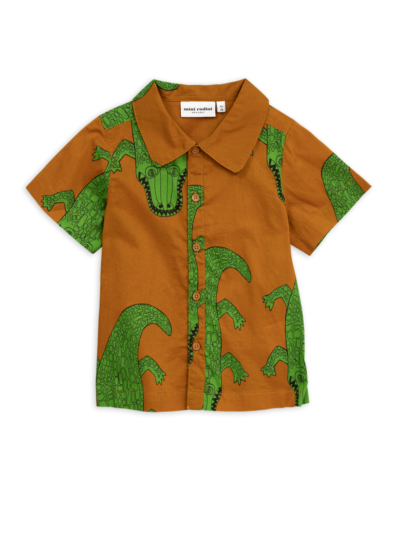 Mini Rodini Crocco shirt Brown