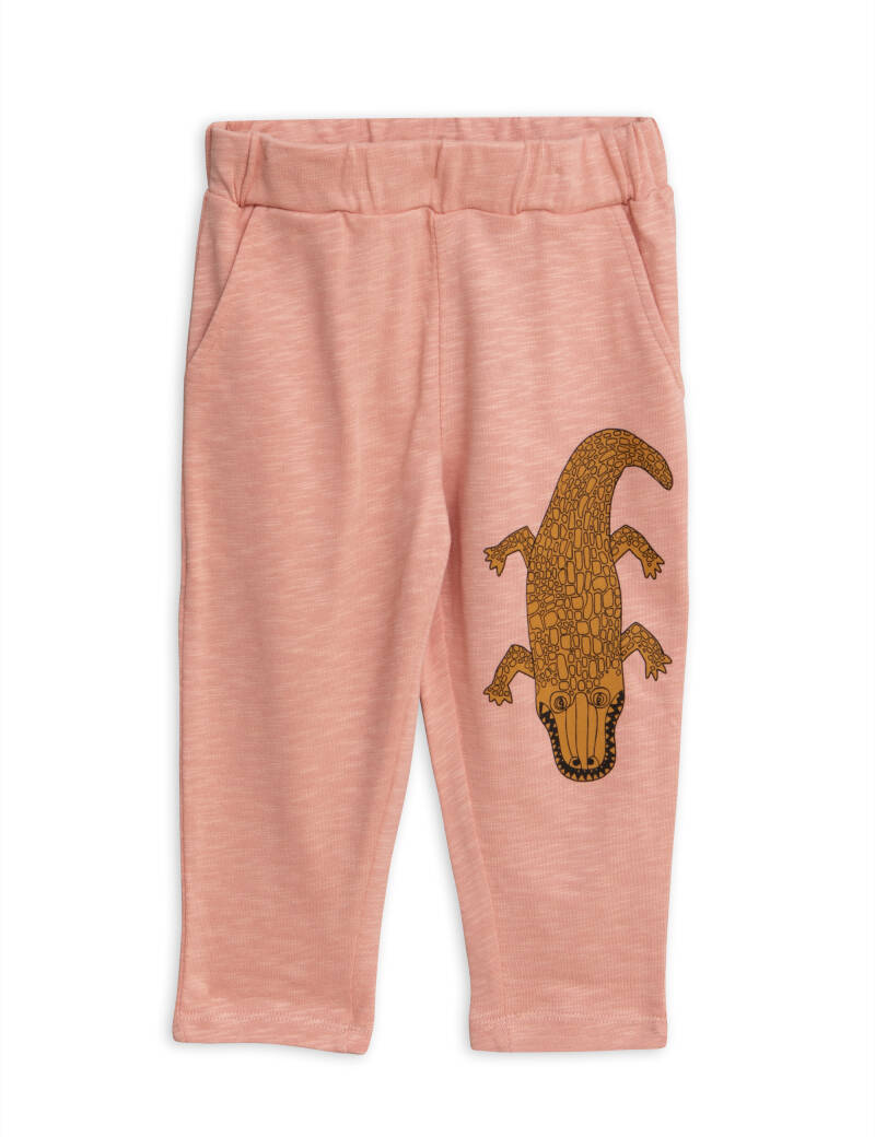 Mini Rodini Crocco sp sweatpants pink