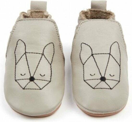 Boumy - Dubi - Bunny - Pale Grey leather