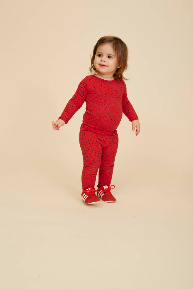 Soft Gallery baby paula legging Mars red