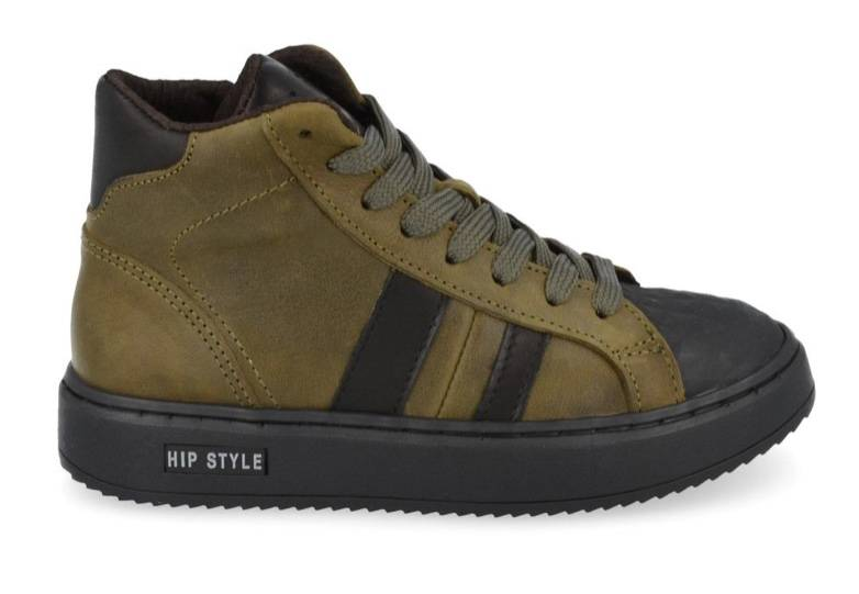 HIP - Sneakers - kaki leather