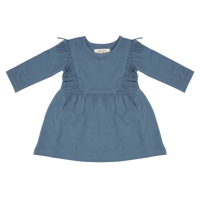 Little indians boho dress - blue
