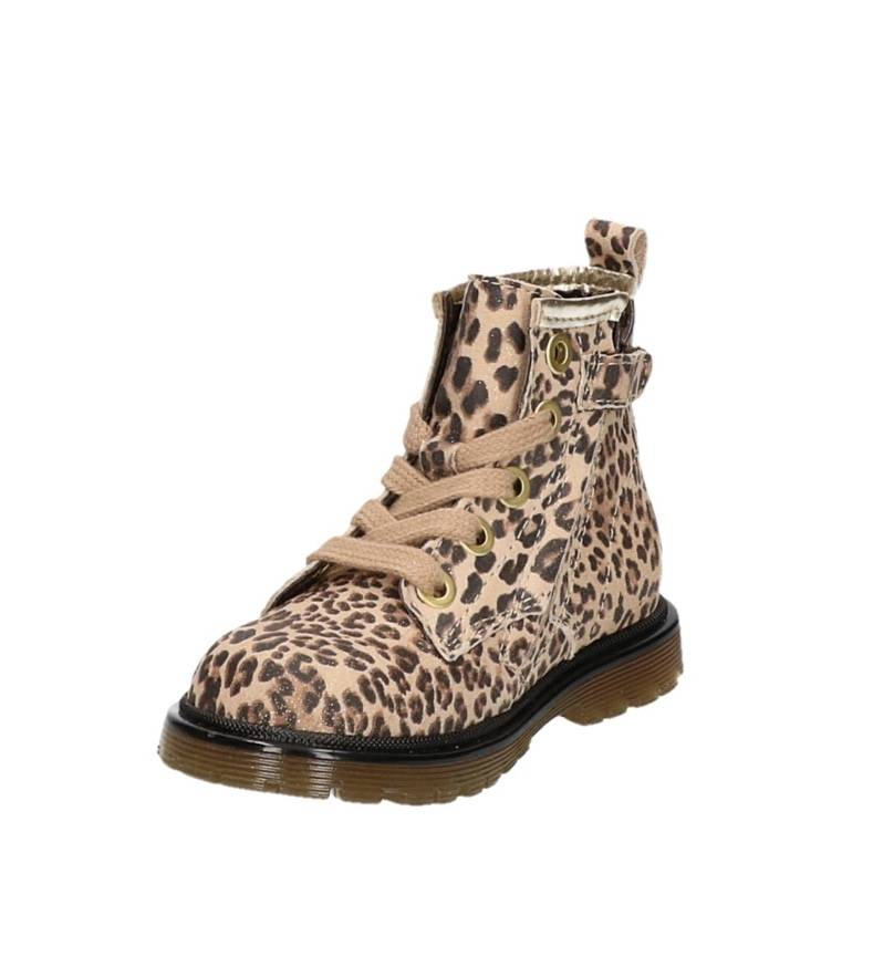Pinocchio - leopard booties