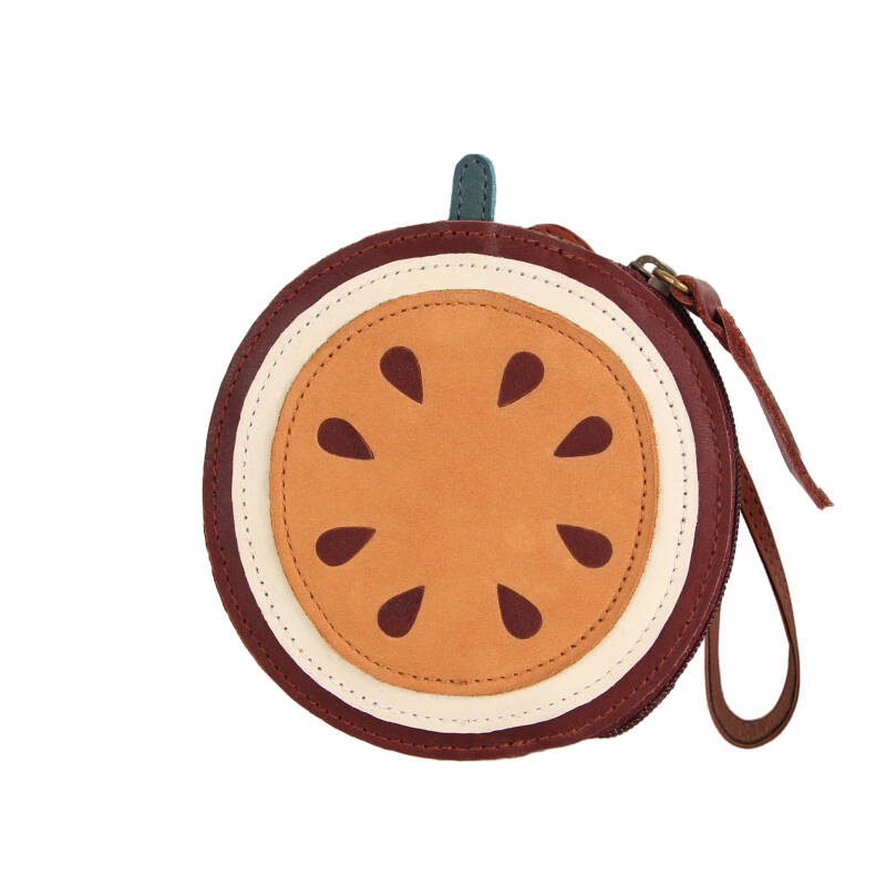 Donsje Amsterdam Nanoe fruit coin pouch Passion fruit