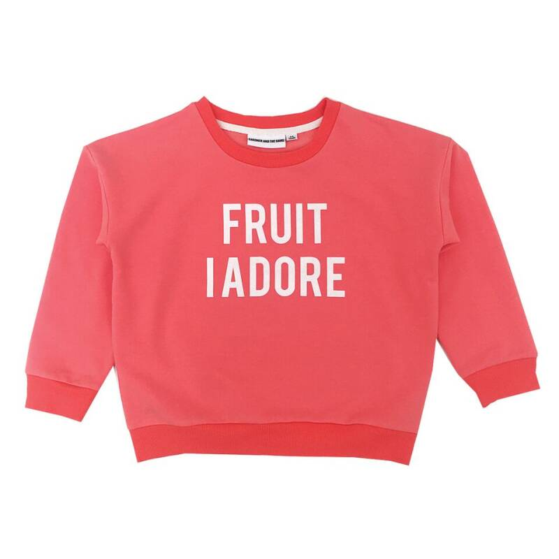 GATG The classic sweatshirt fruit i adore red