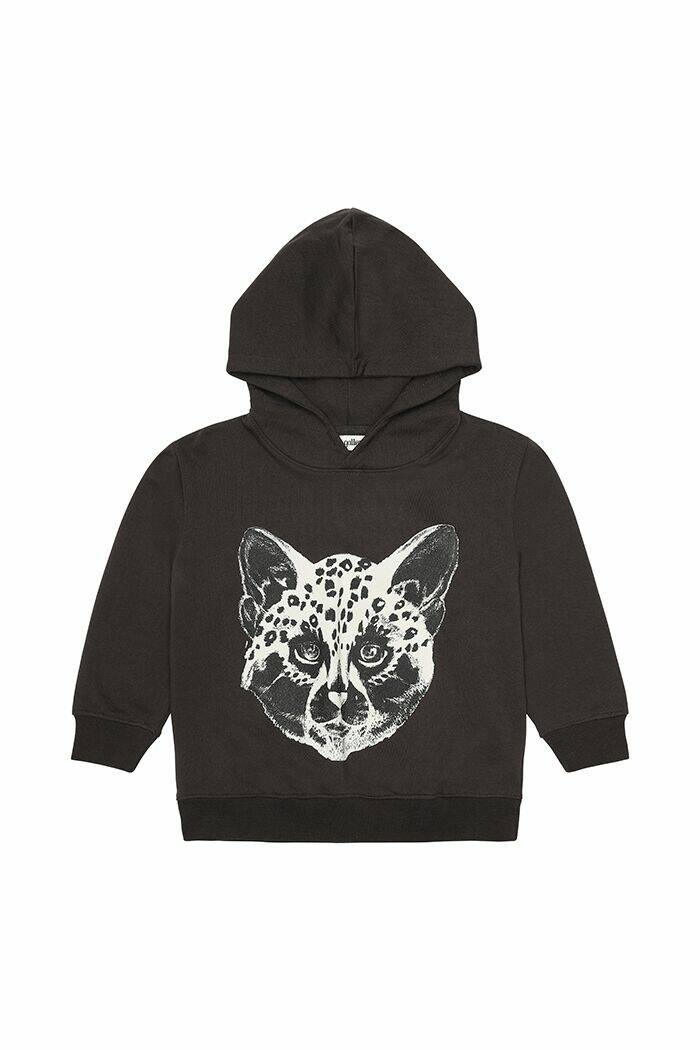 Soft Gallery Bowie hoodie Futurecat peat