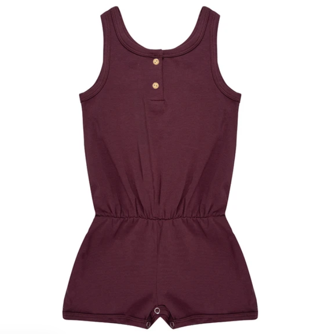 Little indians Jumpsuit - Eggplant (Laatste 2-3J)