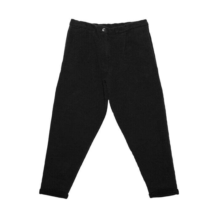 Mingo - Cropped chino black