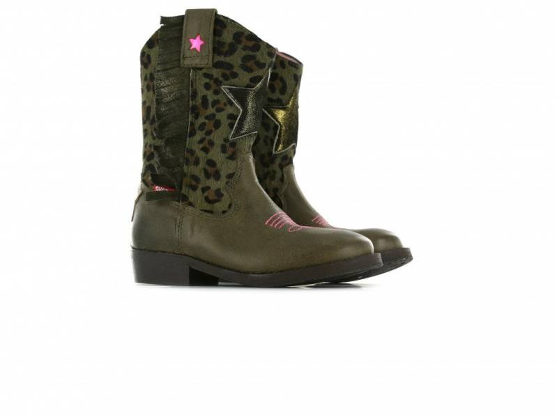 Shoesme - Western laars - army green
