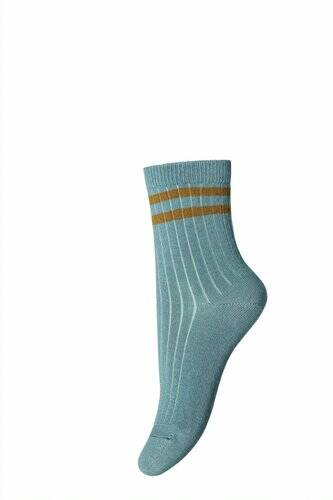 Mp Denmark - Ankle Benn Light blue- mustard (77145-1452)