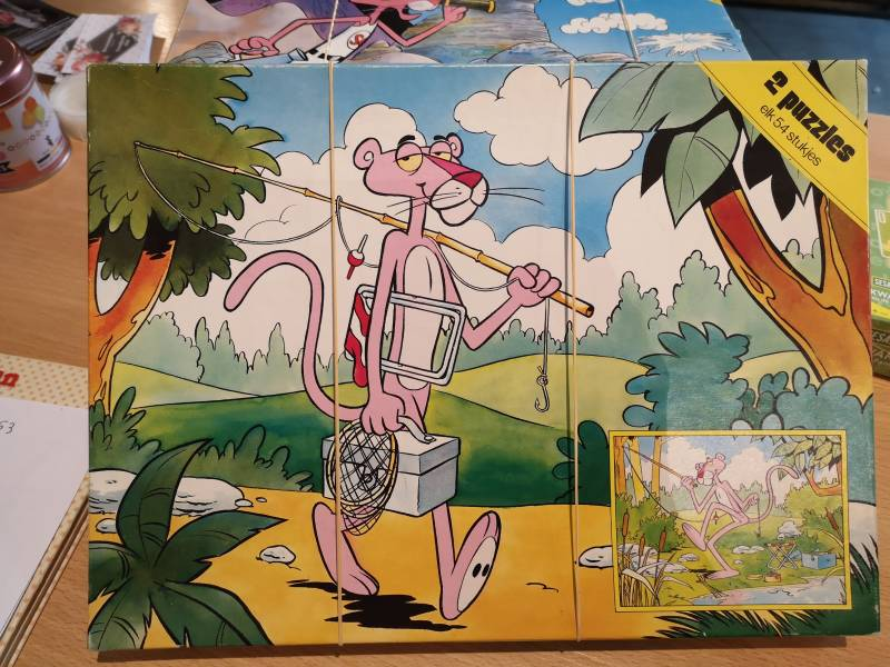 Puzzel pink panther
