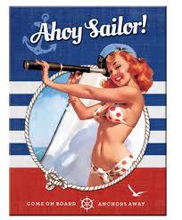 pin up ahoy sailer