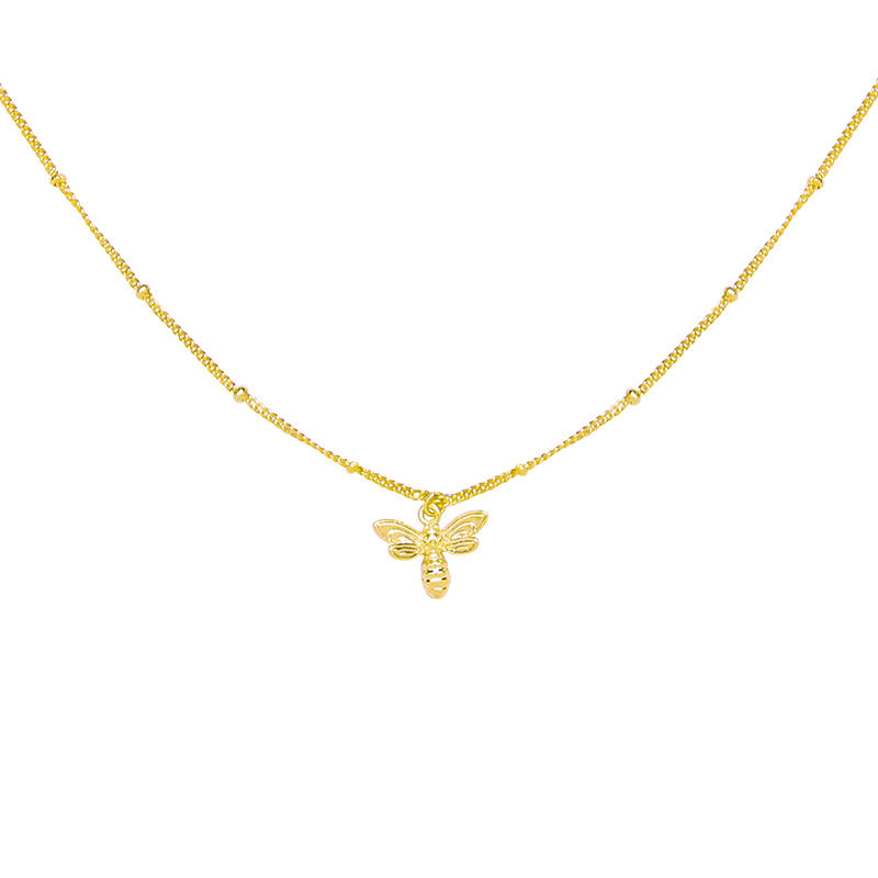 Ketting Beautiful Bee gold