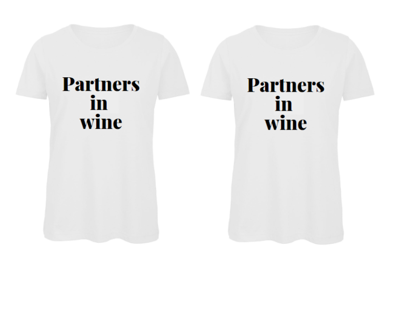 Combi deal 2 x shirt partners in wine