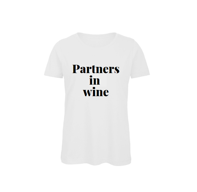 Shirt partners in wine