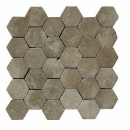 Stabigo Hexagon mocca afm. 30x30