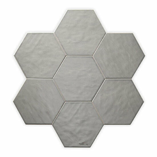 Sottocer Matrix Hexagon light grey afm. 17.5x20.2