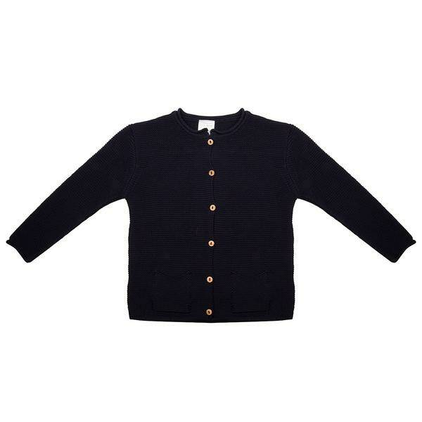 Sweater Knit Blauw Little Indians