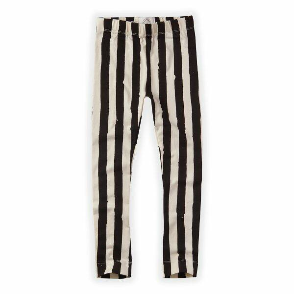 Off with painted stripe legging