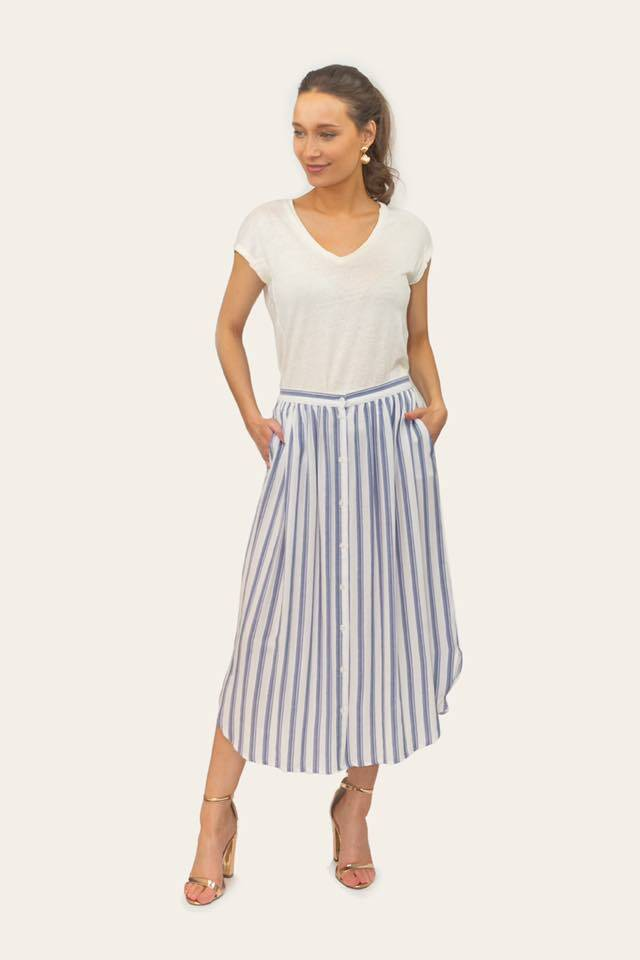 Liv skirt stripe
