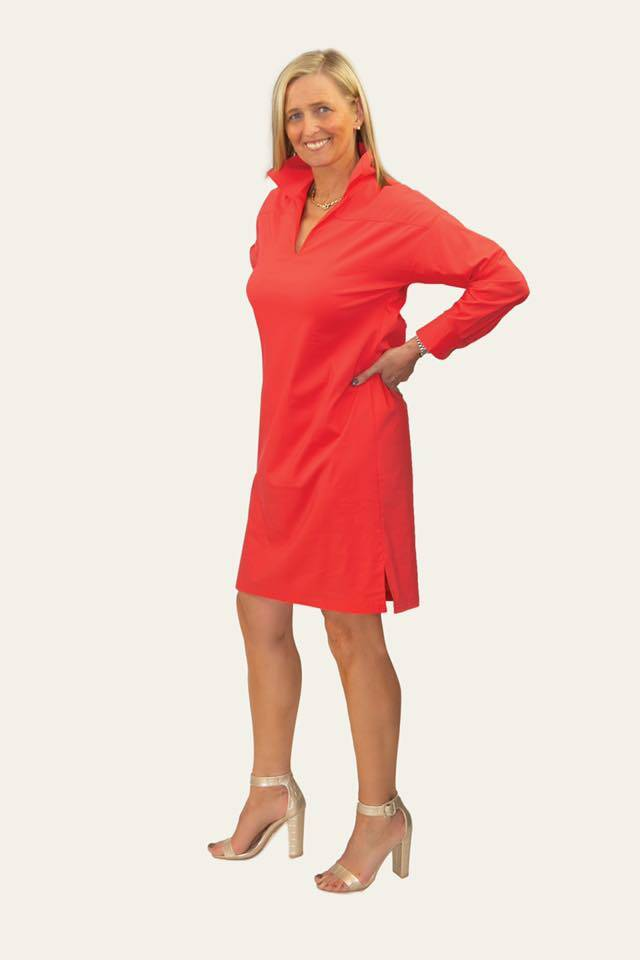 Shorty red dress