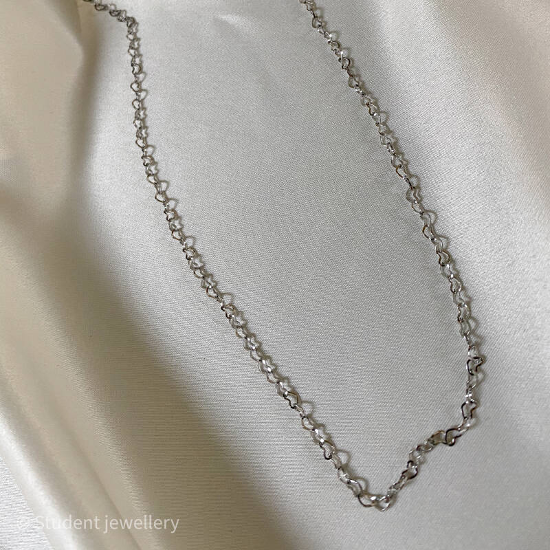 Necklace - Five-hundred hearts