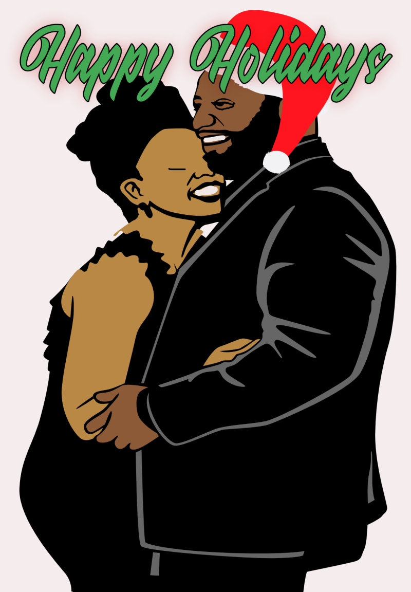 Merry Christmas Couple