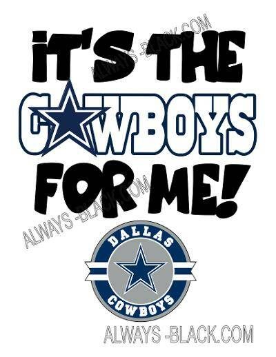 It's the Cowboys for me
