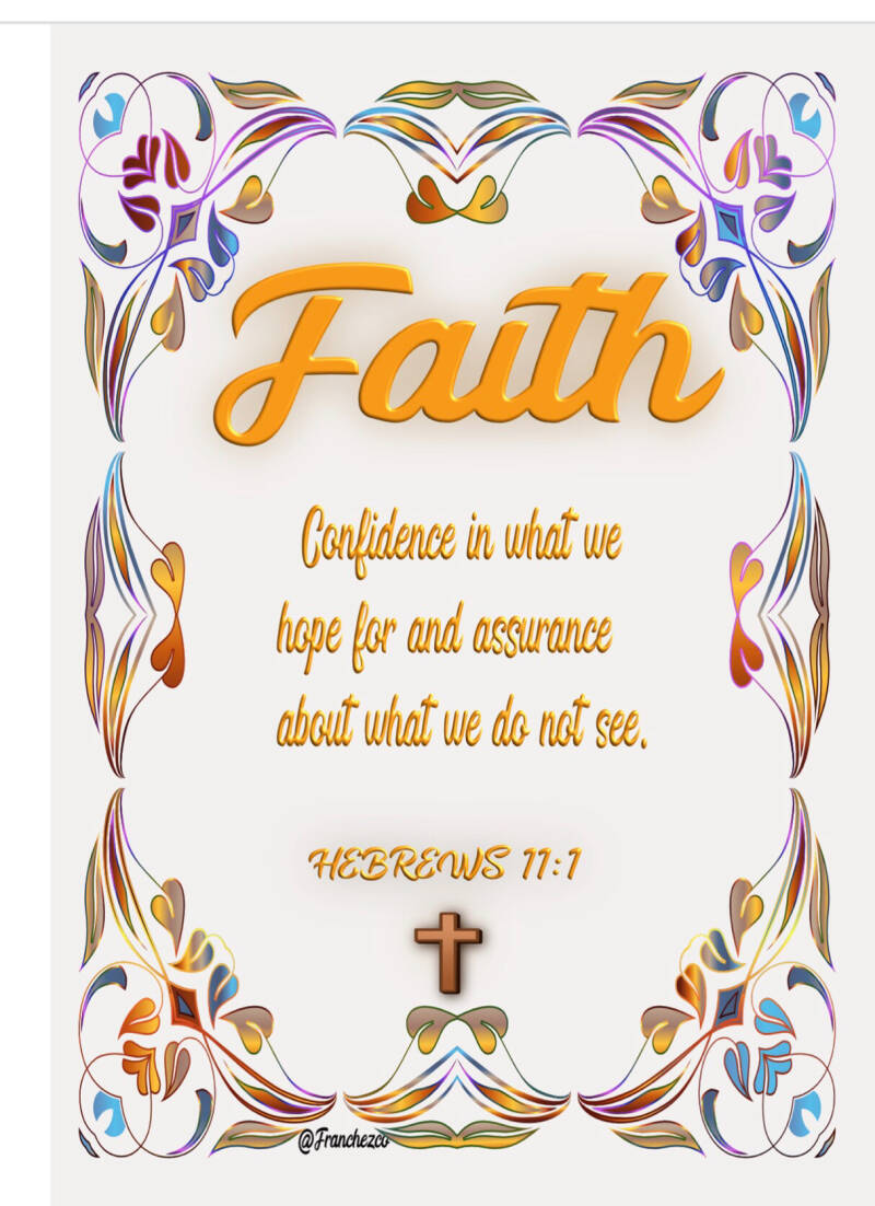 Faith note card