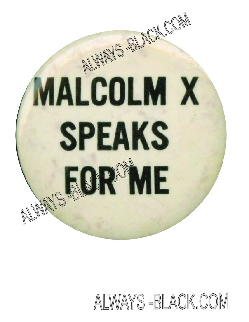MALCOLM X SPEAKS FOR ME