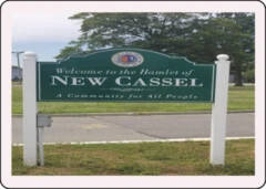 New Cassel, New York Post card