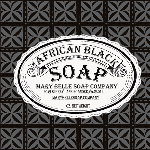 African Black Soap Handmade