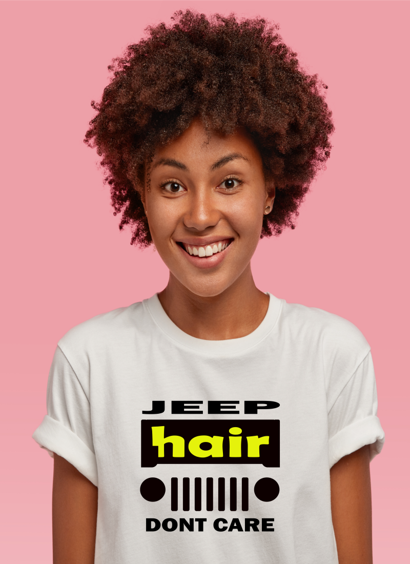 JEEP HAIR, DONT CARE
