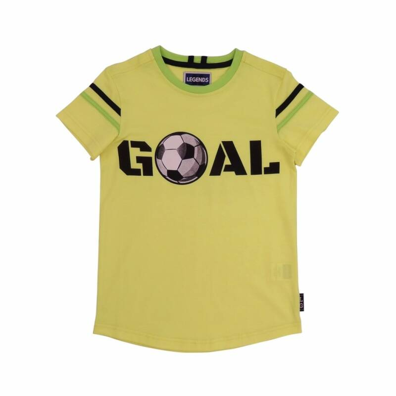 Legends22 shirt voetbal geel