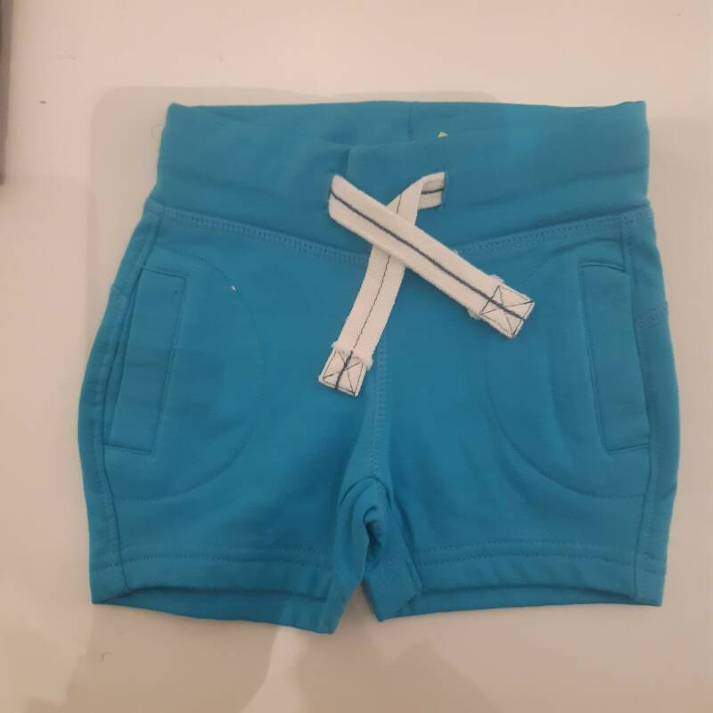 Outlet short zee blauw