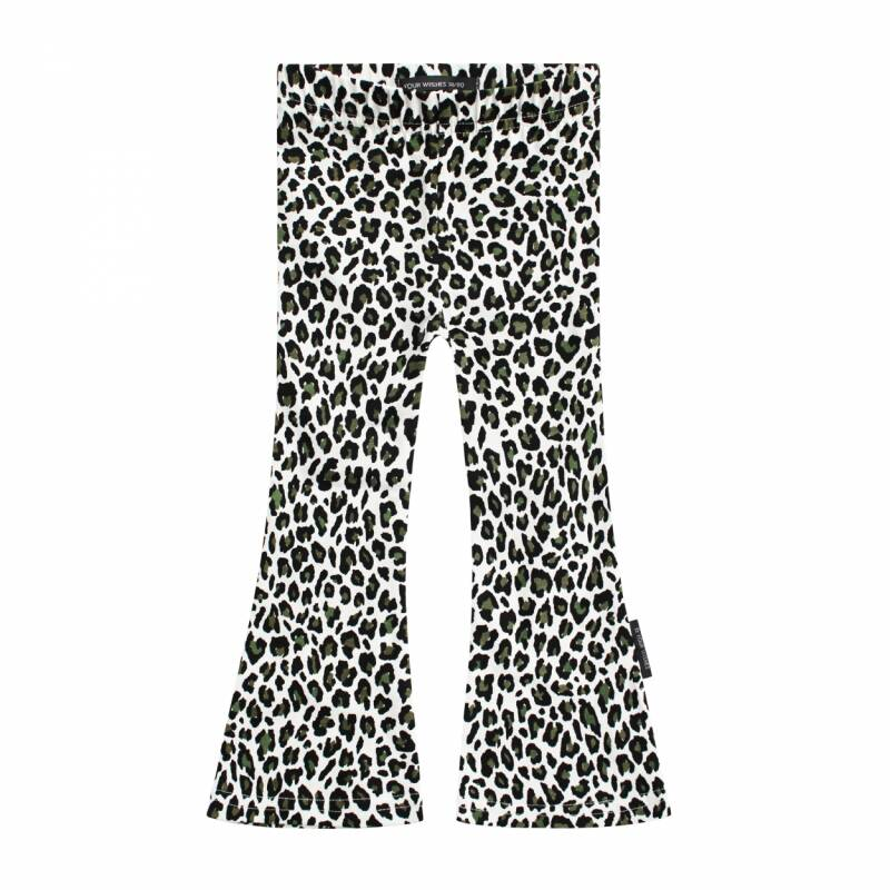 Your Wishes Leopard Camo flared