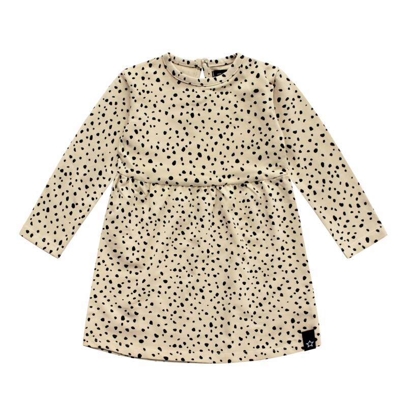 Your Wishes jurk Cheetah Nude baby