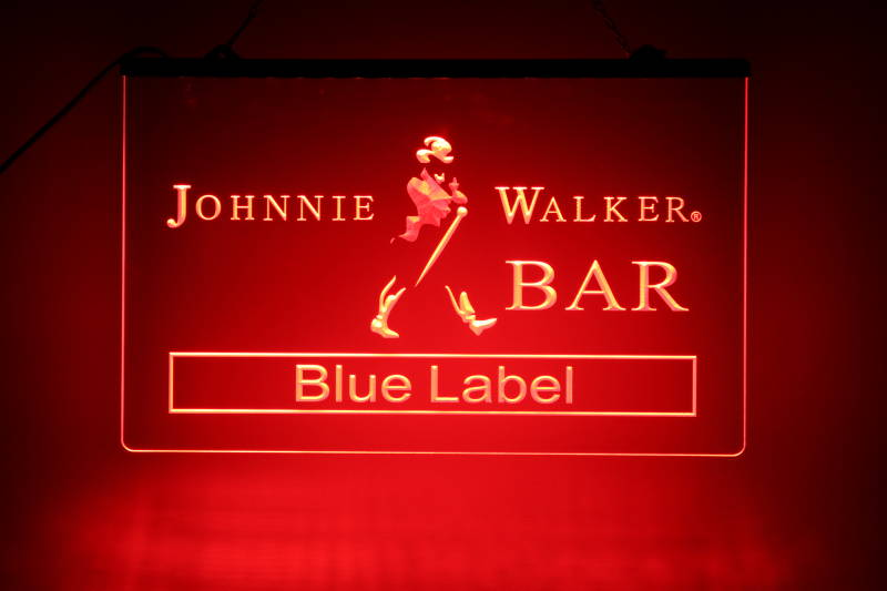 Johnnie Walker LED bord