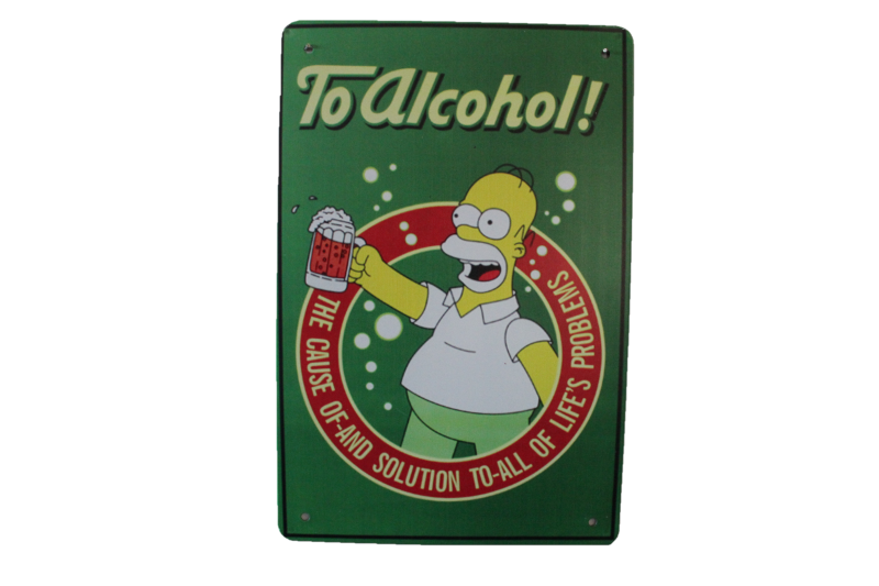 The Simpsons - To Alcohol Green