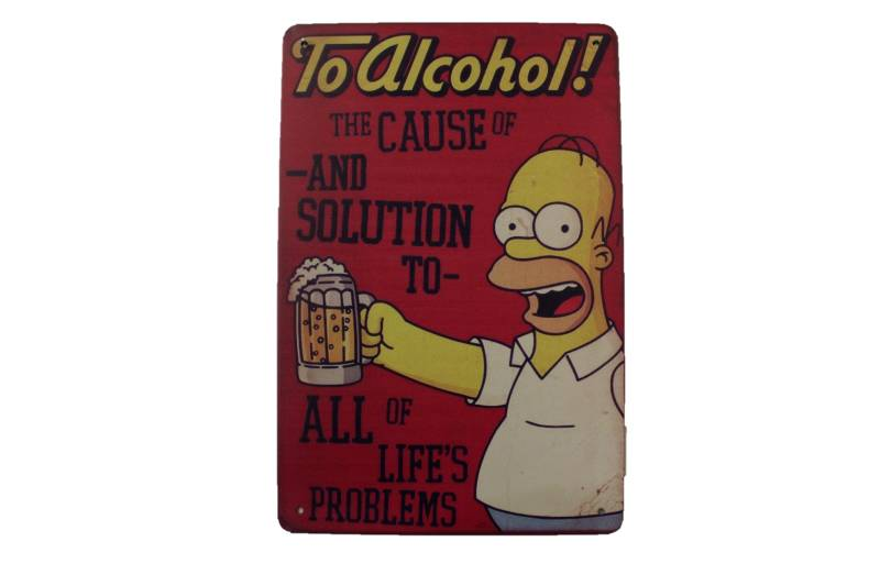 The Simpons - To Alcohol