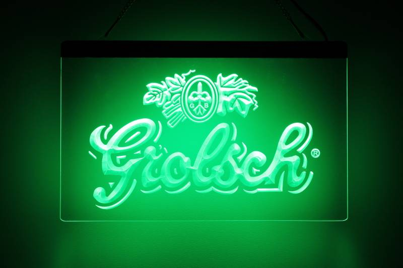 Grolsch LED bord