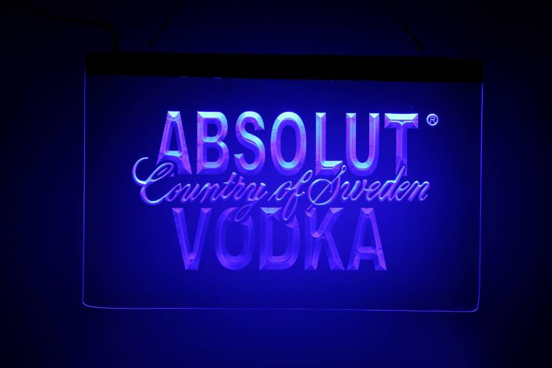 Absolut Vodka LED bord